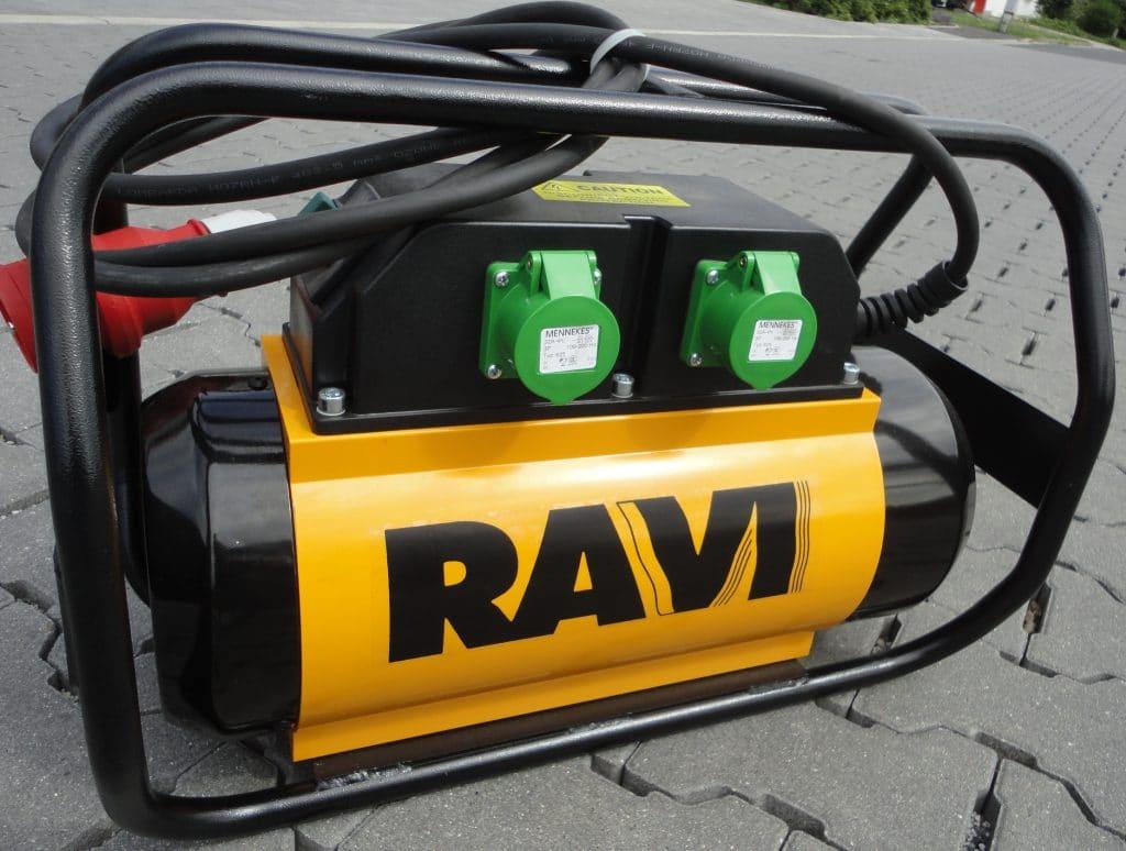 Frequenzumformer, Betonverdichtung RAVI